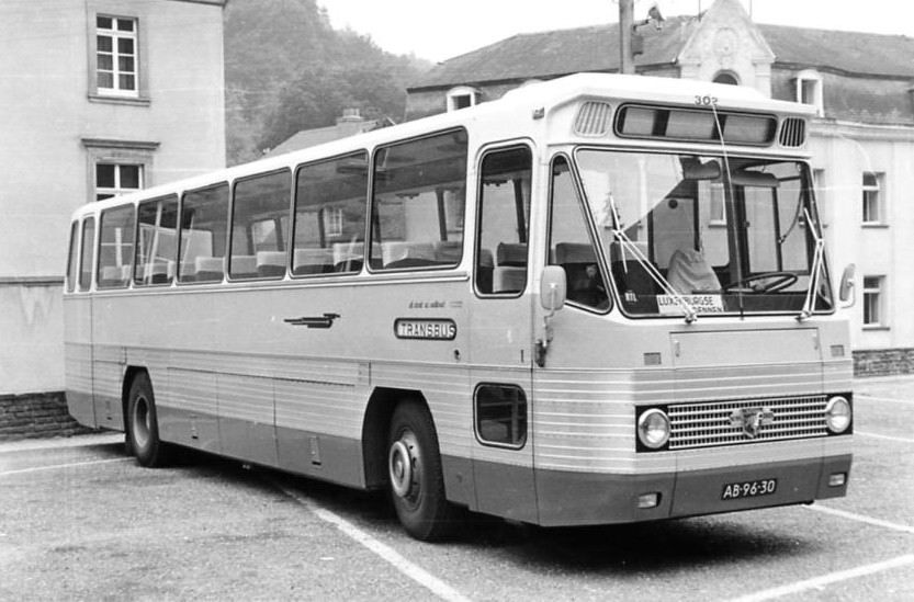 Leyland Roset Dutch GTW bus in Clervaux Luxemburg
