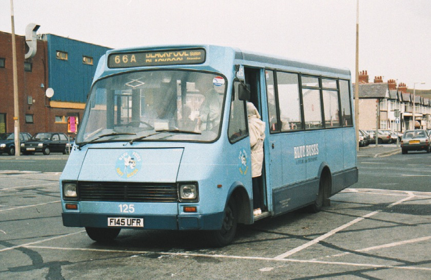 Renault 125  Fylde 145 0993 Cleveleys Dave Hatcher