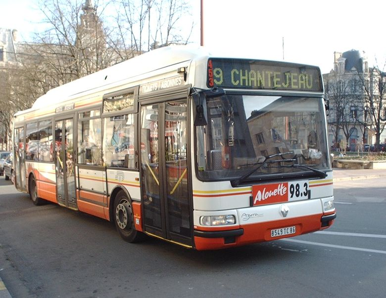 RENAULT AGORA GNV - STP - Poitiers
