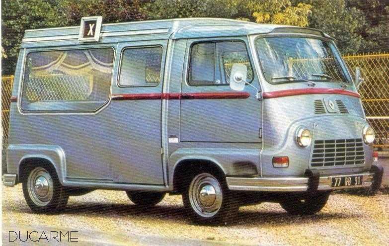 Renault Estafette Ducarme Hearse