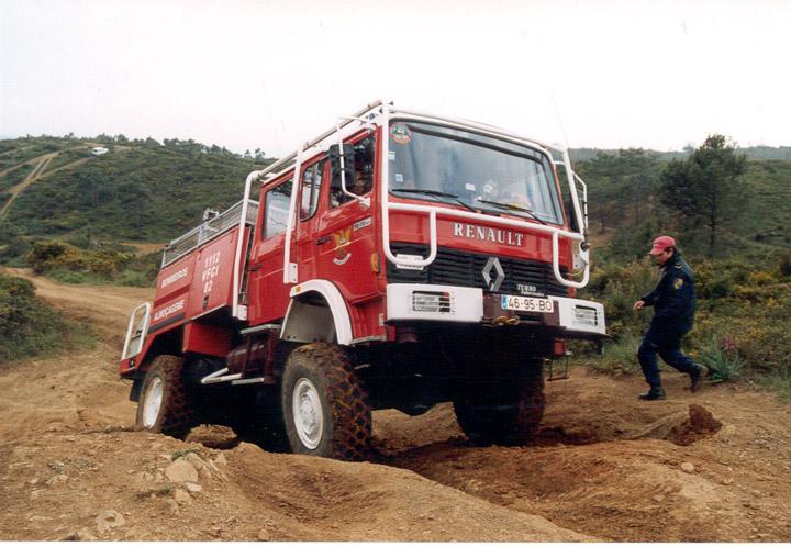 Renault Fire brigade Almocageme Portugal