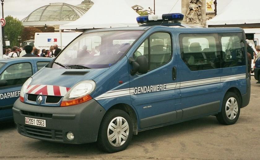 Renault Fourgon Gendarmerie