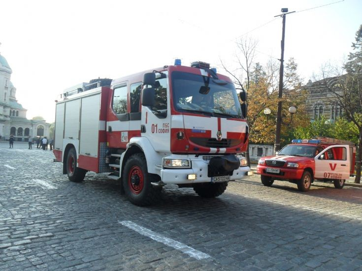 Renault Midlum 1-st Fire Safety and Population Protection in Sofia