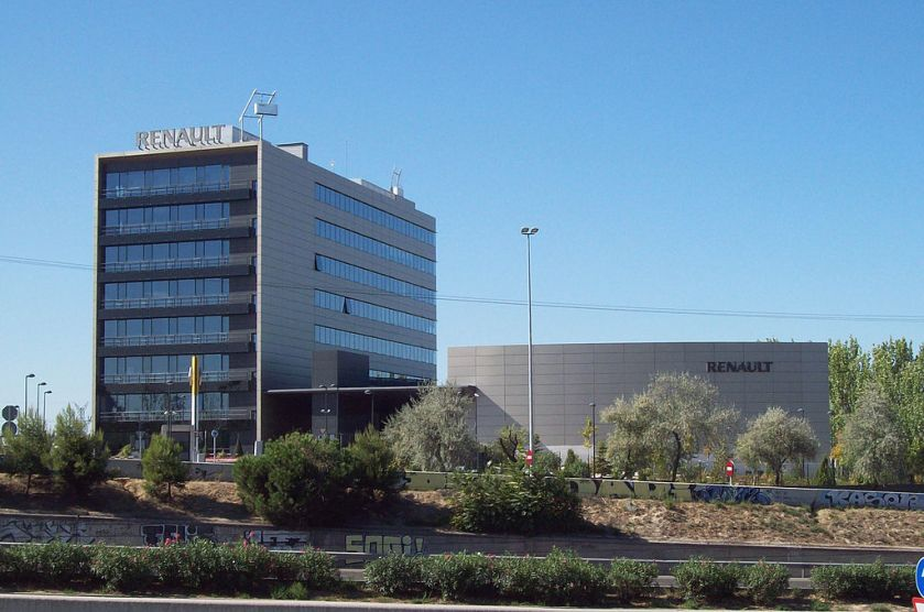 Renault offices in Madrid (Spain)
