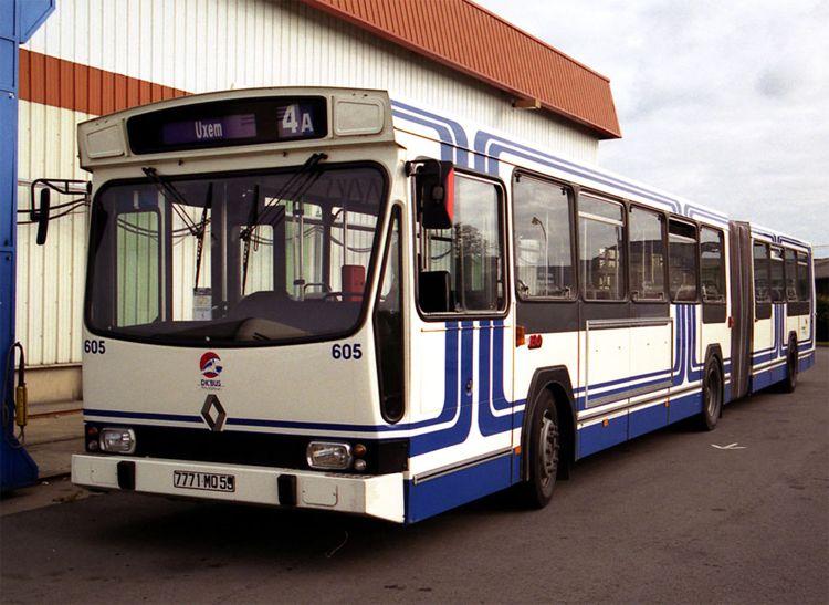 RENAULT PR 180 - DK'Bus - Dunkerque