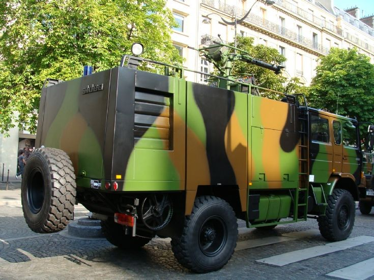Renault Sides Foam Tender French Army