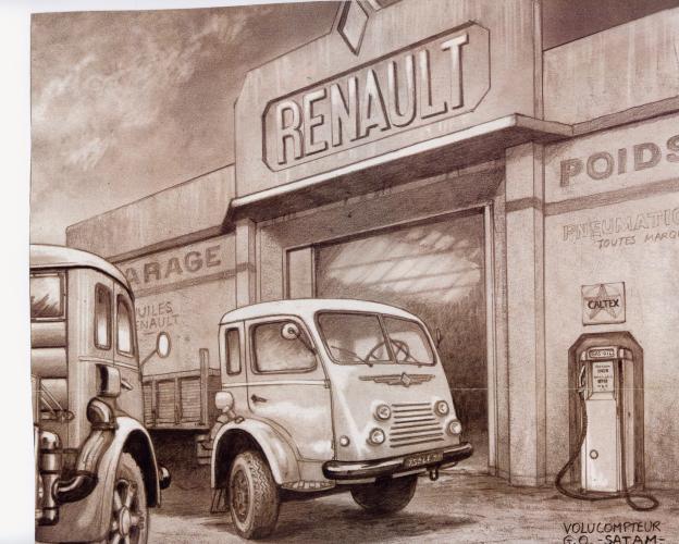 Renault Tekening Reclame