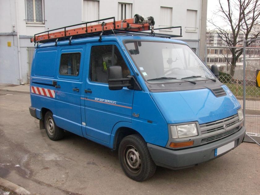 Renault Trafic 4x4 l