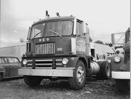 REO cabover using the Diamond T cab.