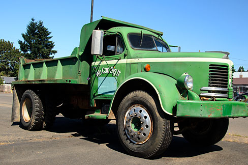 REO Cottage Grove Dump Truck (Lane County, Oregon scenic images) (lanDB2094)