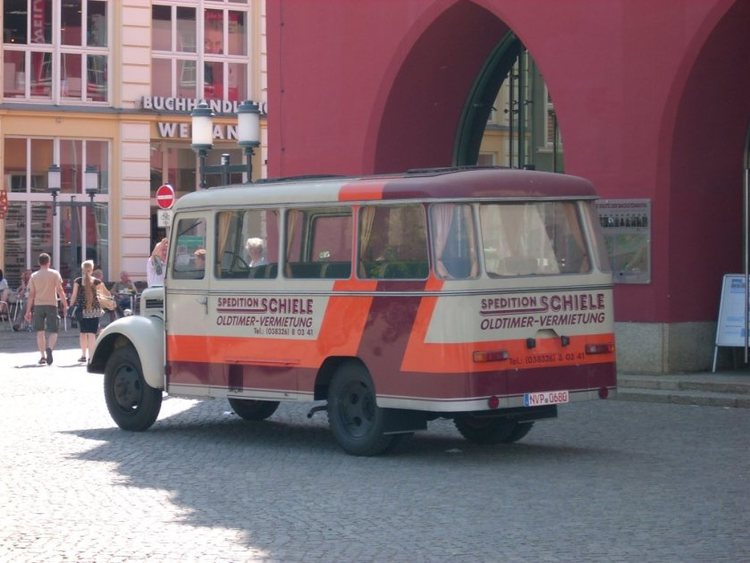 Robur Garant K30 Busses in Greifswald