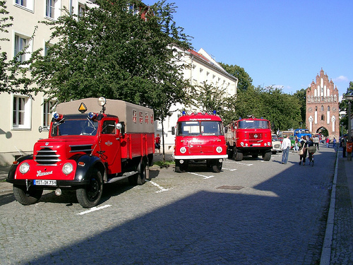 Robur Garant, Robur und W50 Feuerwehr