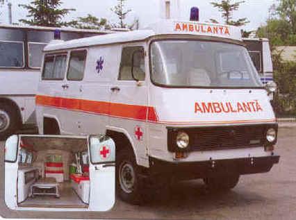 Rocar 4 od ARO Autosovjet ambulance