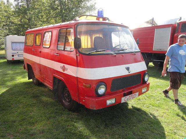 Rocar brandweerwagen