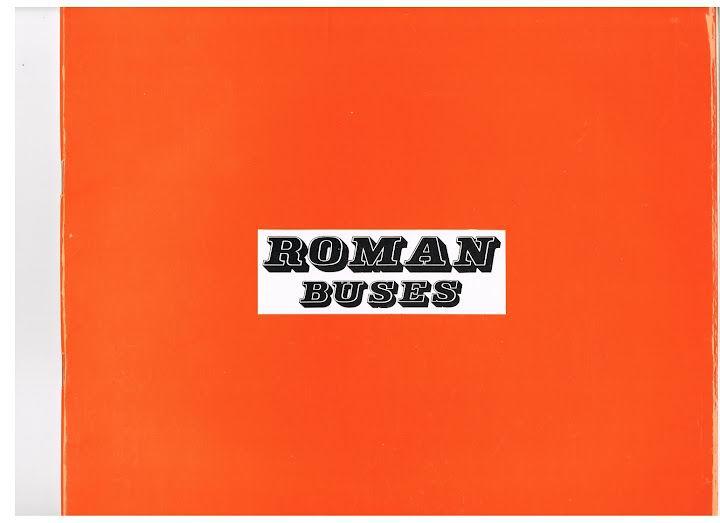 ROMAN Buses boekje