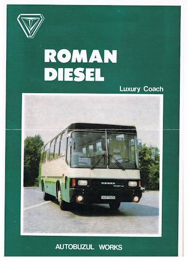 ROMAN Luxury Coach autobuzul works