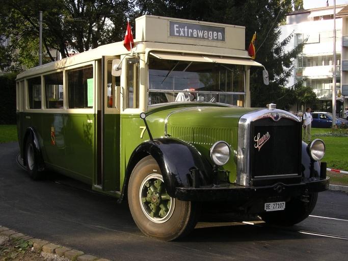 Saurer Bern Extrawagen