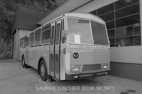 Saurer Tüscher 3DUK-50 index