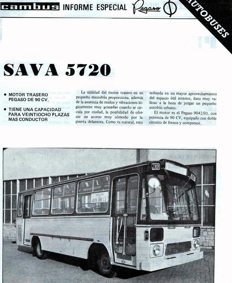 sava 5720 Pegaso