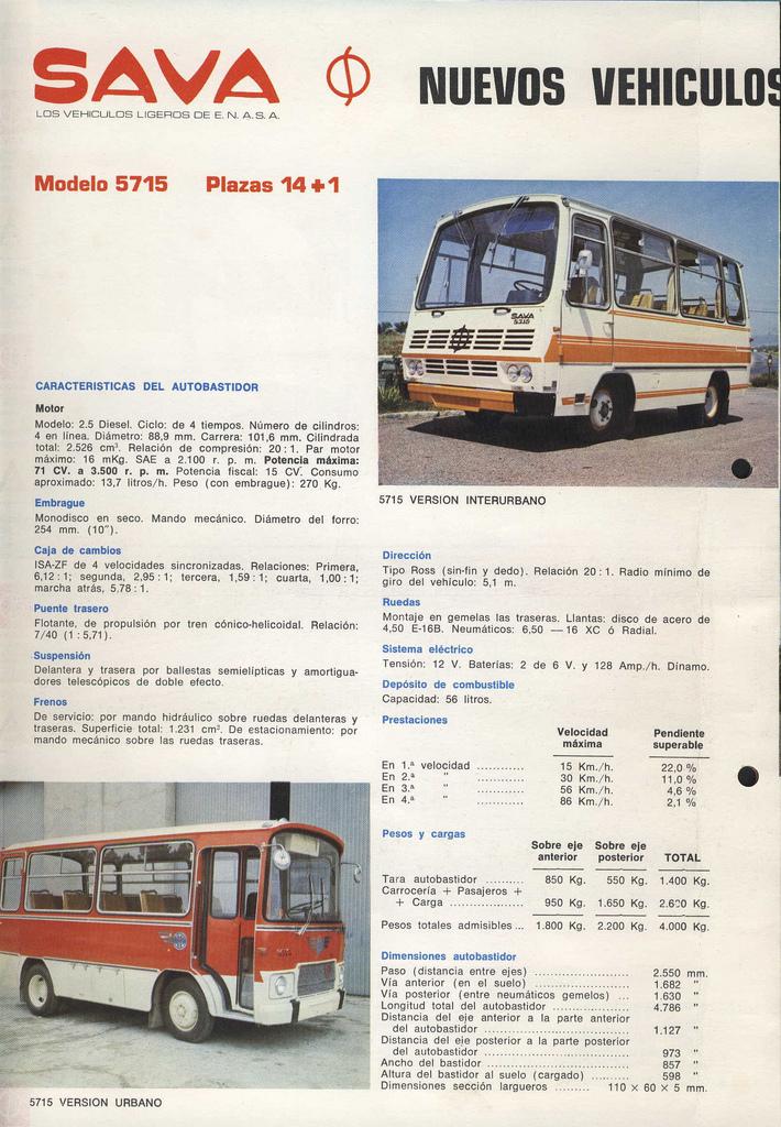 SAVA II 5715
