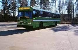Säffle Karosseri står ett antal nya bussar