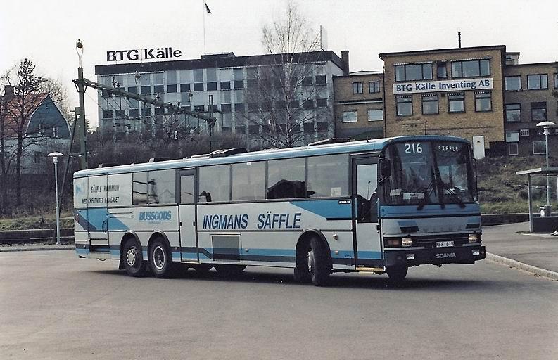 Trafik AB Ingmans Busslinjer, Säffle Swebus AB - 3480