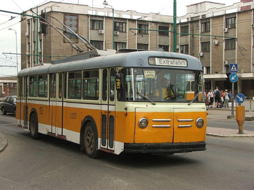 Trolleybus Saurer in Timisoara