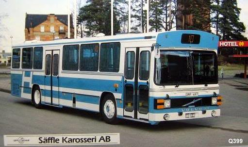 Volvo B 10 R. -- Säffle Karosseri AB.