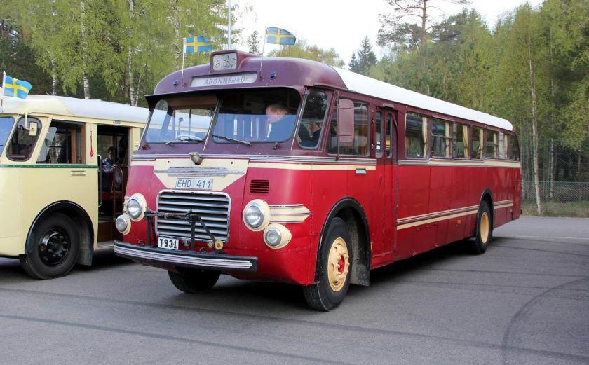 Volvo B513 men karossen kommer från J Höglunds Karosserifabrik i Säffle B (15351)-001