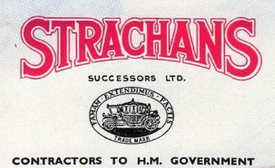 1900 Strachans Coachworks, logo