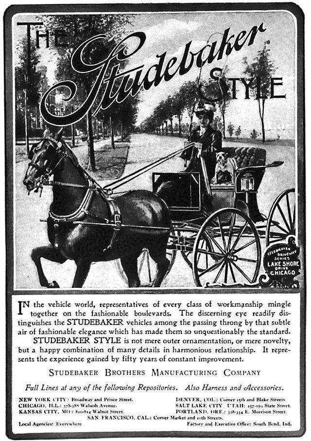 1902 Studebaker advertisement