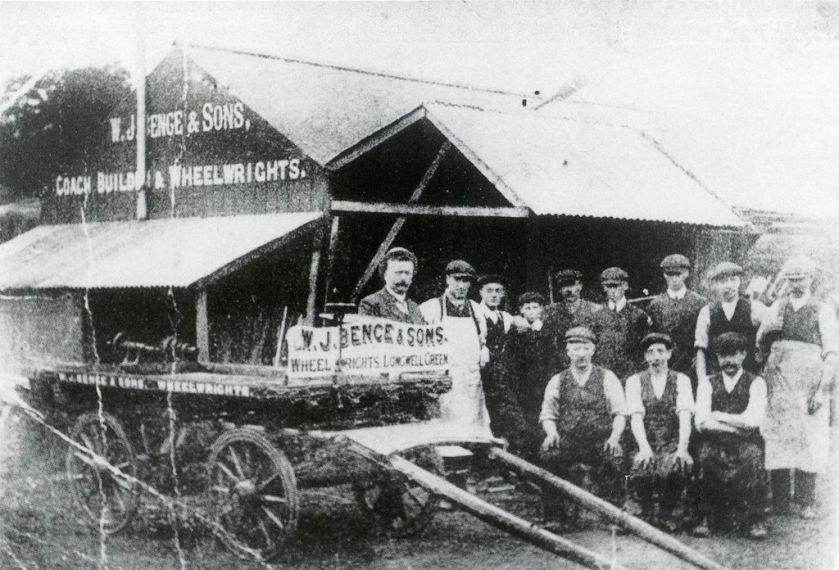 1906 W.J Bence, Longwell Green BS30