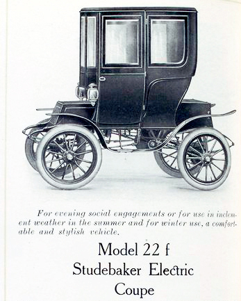 1909 studebaker elec model 22