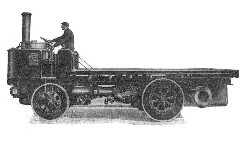 1911 Early Sentinel Steam Wagon Alley & McLellan