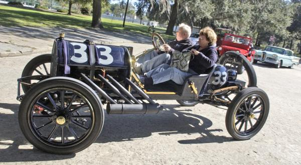 1911 EMF factory team race car