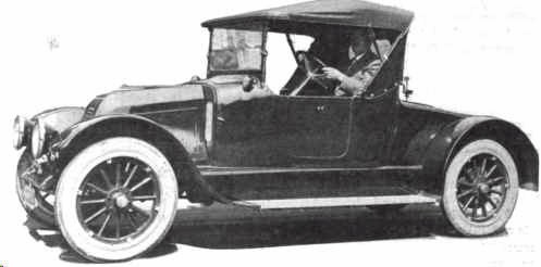 1915 Stewart Roadster Automobile