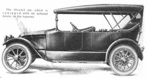 1915 Stewart Touring Automobile