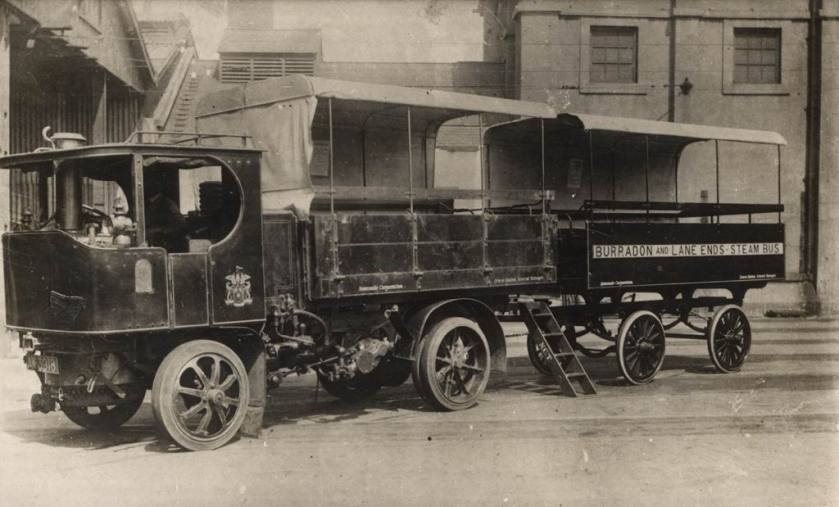 1917 Sentinel Steam Bus