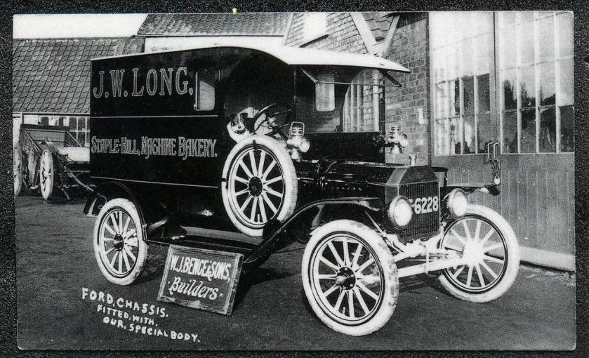 1918 Bence Motor Services, Bitton Ford