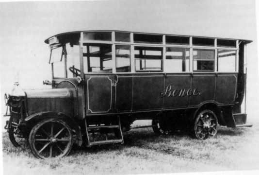 1918 One of Bence's early Longwell Green built buses BS30