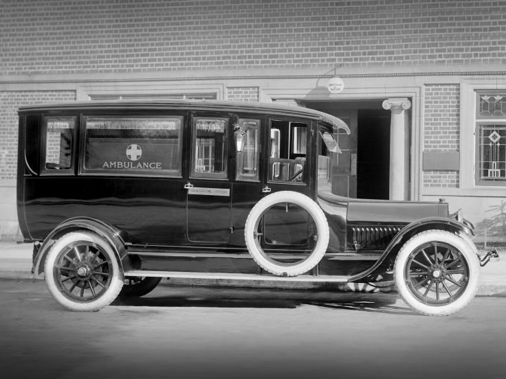 1918 Studebaker Ambulance by Armstrong & Hotson emergency