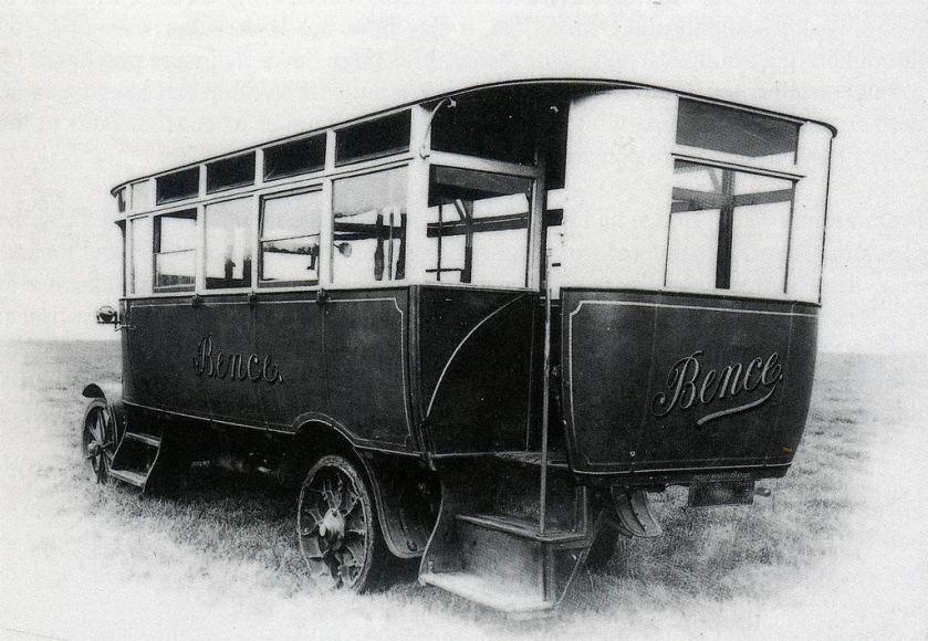 1919 Bence Coach Works Daimler Bus c1919