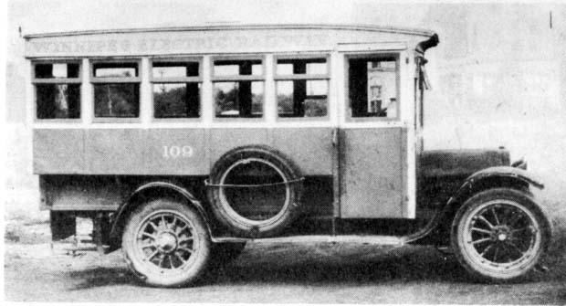 1919 Studebaker WECo 16 seats Winnipeg