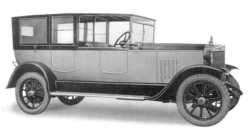 1920-24 Steyr Typ II - das Waffenauto