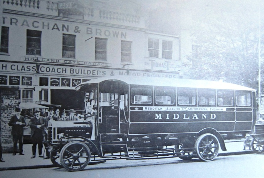 1920-31 Midland Red A177 (OH 1206) Tilling-Stevens TS3 Strachan and Brown B29F