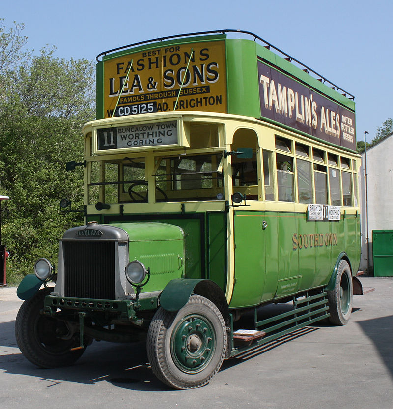 1920 Leyland N Type Short Brothers (1928 rebody) a