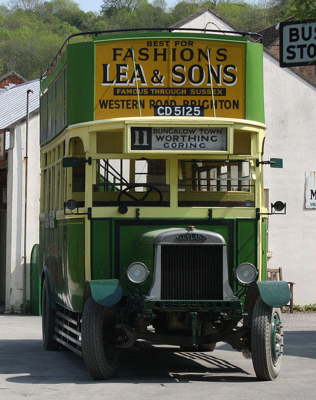 1920 Leyland N Type Short Brothers (1928 rebody) b