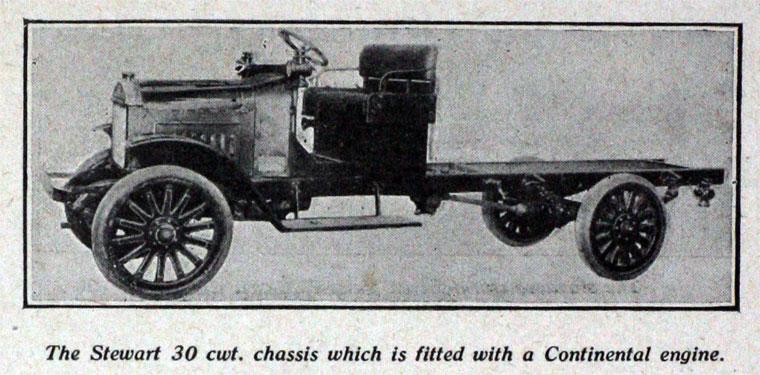 1920 Stewart Trucks