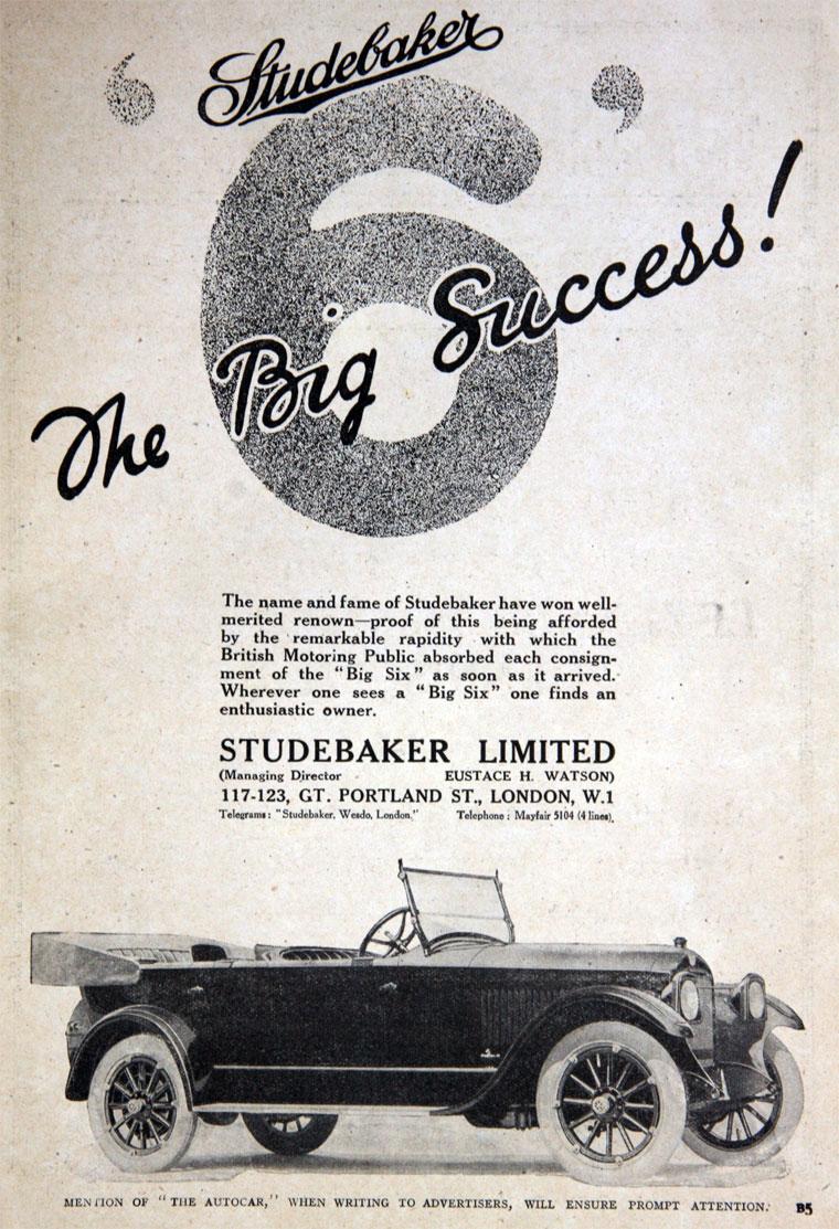 1920 Studebaker a