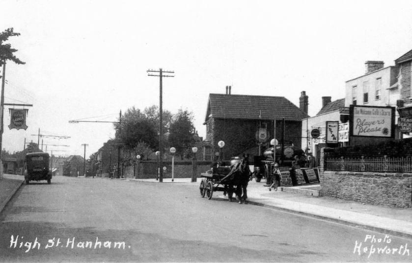 1920s Bence's Garage, Hanham, BS15